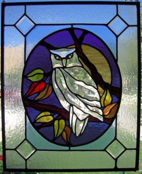 stained glass owl l 37 best stained glass tree and owl tattoo images on