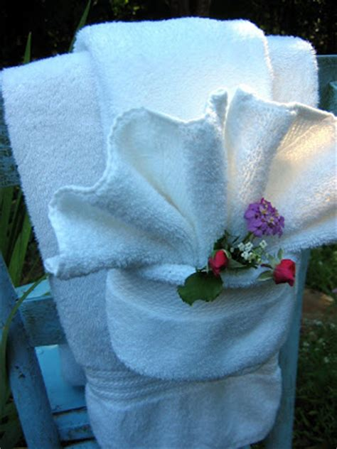 bathroom towel folding ideas the chair fancy shmancy towel fold tutorial