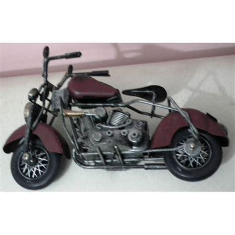 eski doekuem harley oyuncak motosiklet biblo  cm bordo