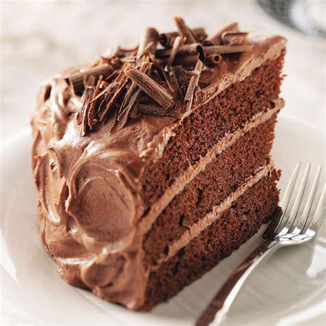 best chocolate recipe best chocolate cake recipe taste of home