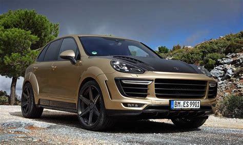 Porsche Cayenne Gold by Tuningcars Topcar Porsche Cayenne Vantage Gold Edition