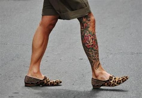 cool calf tattoos for men 78 images about leg tattoos for on tiger