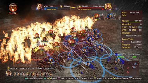 Murah Ps4 Of The Three Kingdoms Xiii Reg 2 Eur Eng of the three kingdoms xiii playstation 4 screens and gallery cubed3