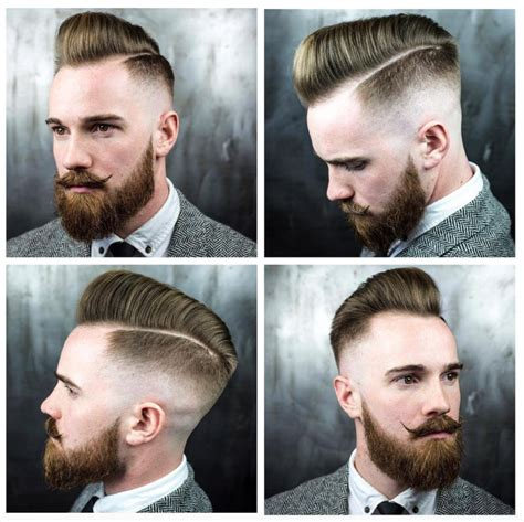types of pompadours fade haircuts different types of faded haircuts and how