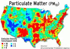 air quality map united states data pollution free cities