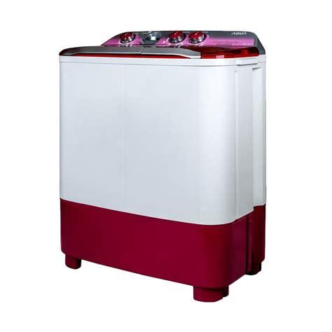 Mesin Cuci Aqua Qw 870xt jual aqua qw 880 xt mesin cuci tub 8 kg 2 tabung harga kualitas terjamin