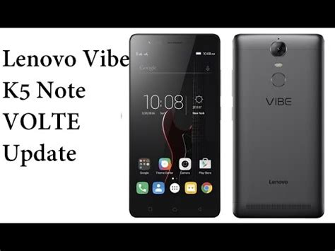 Lenovo Vibe Update lenovo vibe k5 note volte update no jio4gvoice jiojoin needed volte issue ota fixed