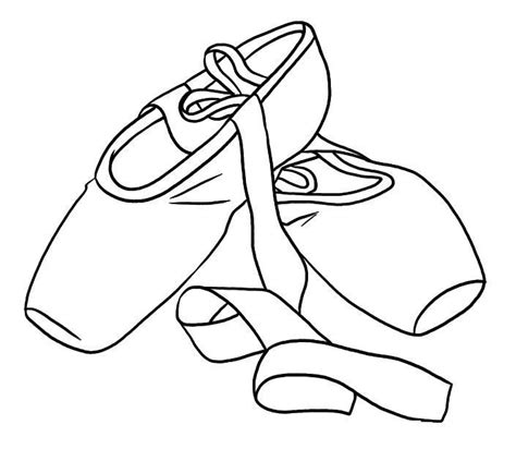 ballerina slippers coloring pages ballet shoes colouring pages coloring page teaching