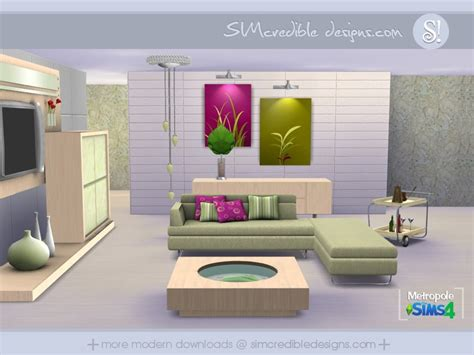 sims 4 wohnzimmer simcredible s metropole