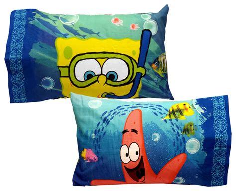 Spongebob Squarepants Pillow by Spongebob Pillowcase Set Sea Adventure Bed Accessories