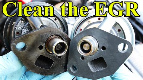 po400 nissan how to clean and replace an egr valve p0400