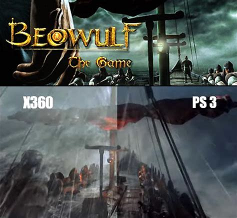 top ps3 graphics vs xbox360 beowulf the ps3 vs xbox 360 graphics comparison