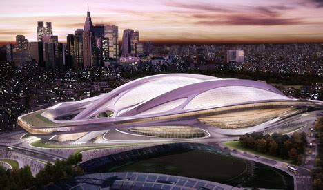 designboom zaha hadid japan japanese architects oppose hadid s 2020 olympic stadium