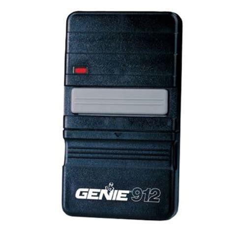 genie garage door opener 912 remote controller