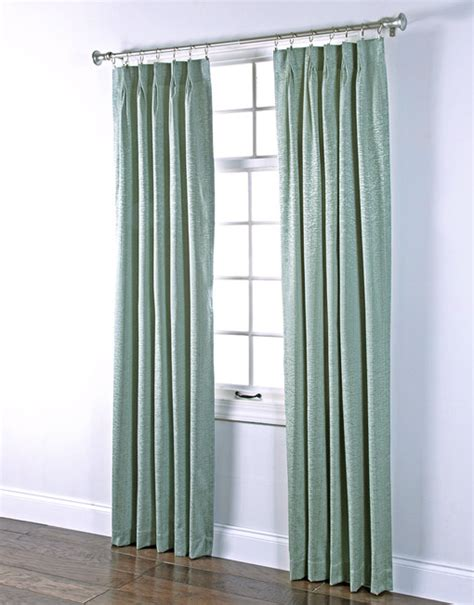 Seafoam Green Curtains Decorating Portland Pinch Pleated Foam Back Drape Pair Renaissance Home Fashion