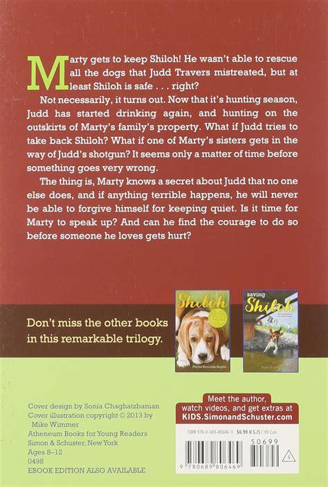 Shiloh Season Book Report by 100 Shiloh Study Guide Questions Shiloh Ch 3 Shiloh Book Report Summary The Mouse