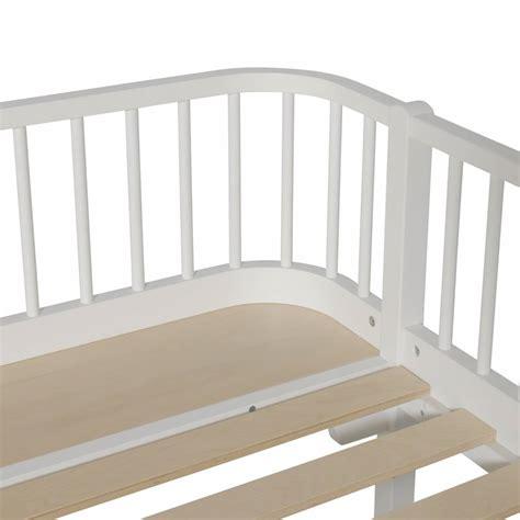 futon 90x200 oliver furniture wood white day bed 90x200 cozykidz
