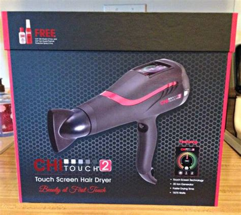 Chi Touch Hair Dryer chi touch 2 dryer she scribes