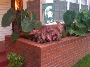 garden brick planter designs home design architecture