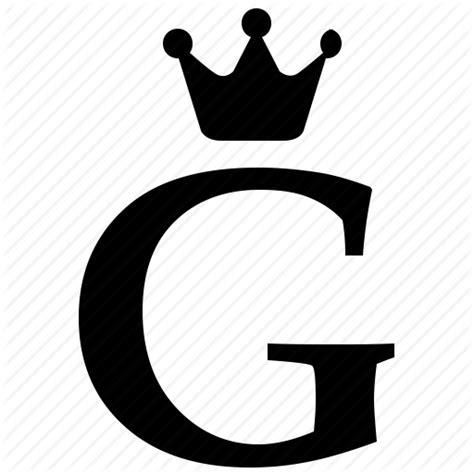 Offer Letter L G alphabet crown g letter royal icon icon