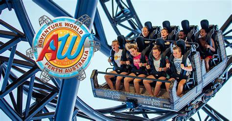theme park perth adventureworld net au roller coaster theme park in