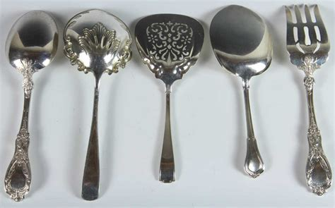 four gorham sterling silver serving pieces