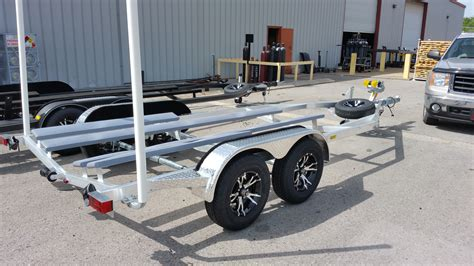 boat to trailer trailers for aluminum boats marine master trailers