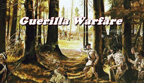 guerrilla warfare history brief guerilla warfare in the revolution youtube