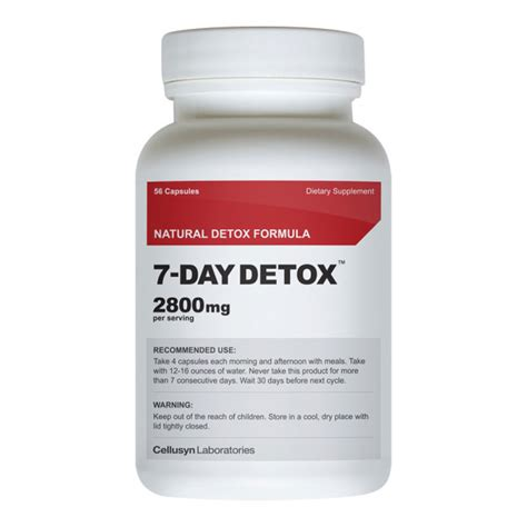 Detox Sleeping Pills by 7 Day Detox Seven Day Detox 7 Day Diet Jump Start