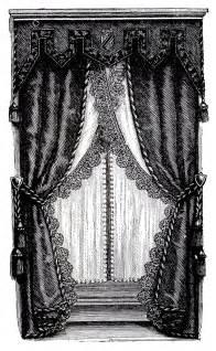free curtains vintage clip fancy curtains draperies