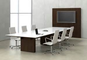 Modern Meeting Table Impress Board Members With These Five Modern Conference Room Designs Modern Office Furniture