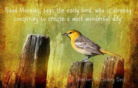 the early bird good morning birds in art pinterest