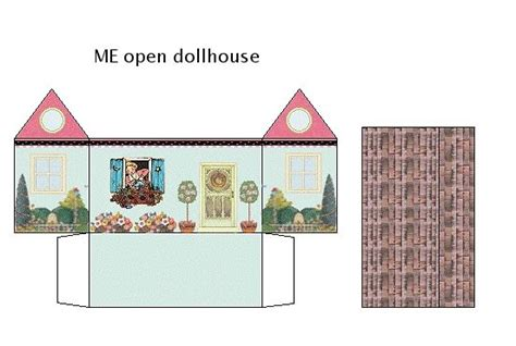 paper doll houses papermau paper doll houses with interior by imprimibles