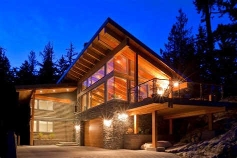 Barn And House Combo whistler chalet emerald modern exterior vancouver