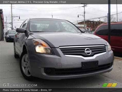 grey nissan altima 2007 precision gray metallic 2007 nissan altima 2 5 s