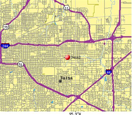 zip code map tulsa 74112 zip code tulsa oklahoma profile homes