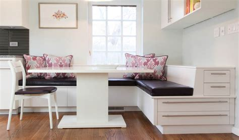 dinette bench seating kitchens and baths banquette built in 171 corinne gail