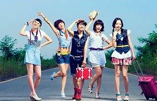 kotak band yolanda fransiska shasa yolanda kara girlsband korea