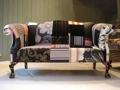 patch couch patchwork sofa