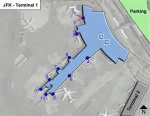 Naia Terminal 1 Floor Plan new york kennedy airport jfk terminal 1 map