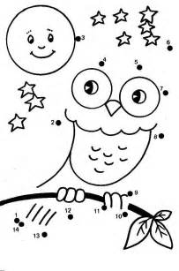 Preschool dot to dot coloring pages az coloring pages