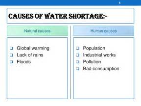 Causes Of Scarcity Of Water Essay by Water Shortage In Australia
