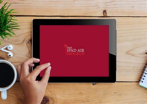 iPad on Desk Mockup   MockupWorld