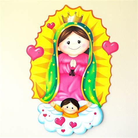 imagenes sencillas de la virgen maria adorno virgencita siempre fiesta