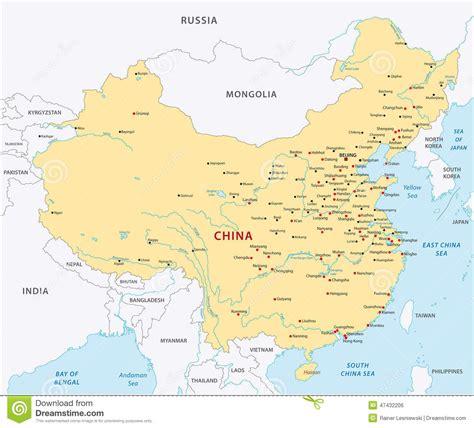 Image China china map stock vector image 47432206