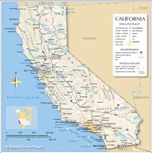 California Universities Map Images