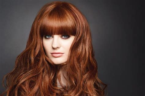 artist with copper brown hair color 25 sizzling hot copper hairstyles