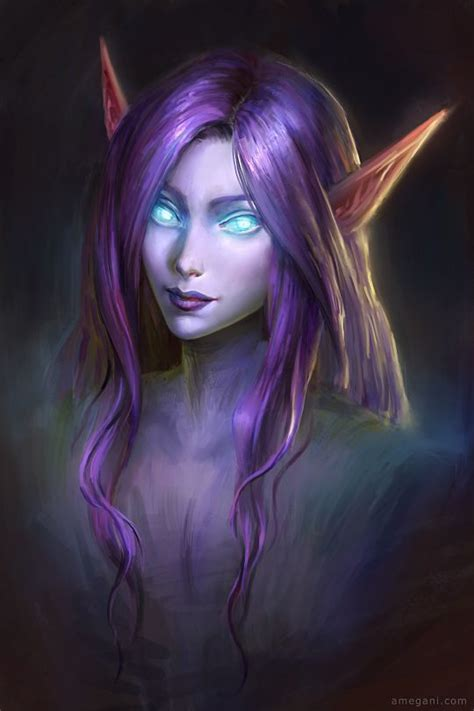 wow dk hair color image result for wow night elf female the elven tribes