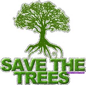 Save trees save earth save the trees picture