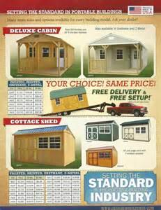 Derksen Portable Buildings Price List » Home Design 2017